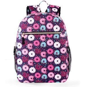 Handbags - Back to school cute donut nylon backpack!